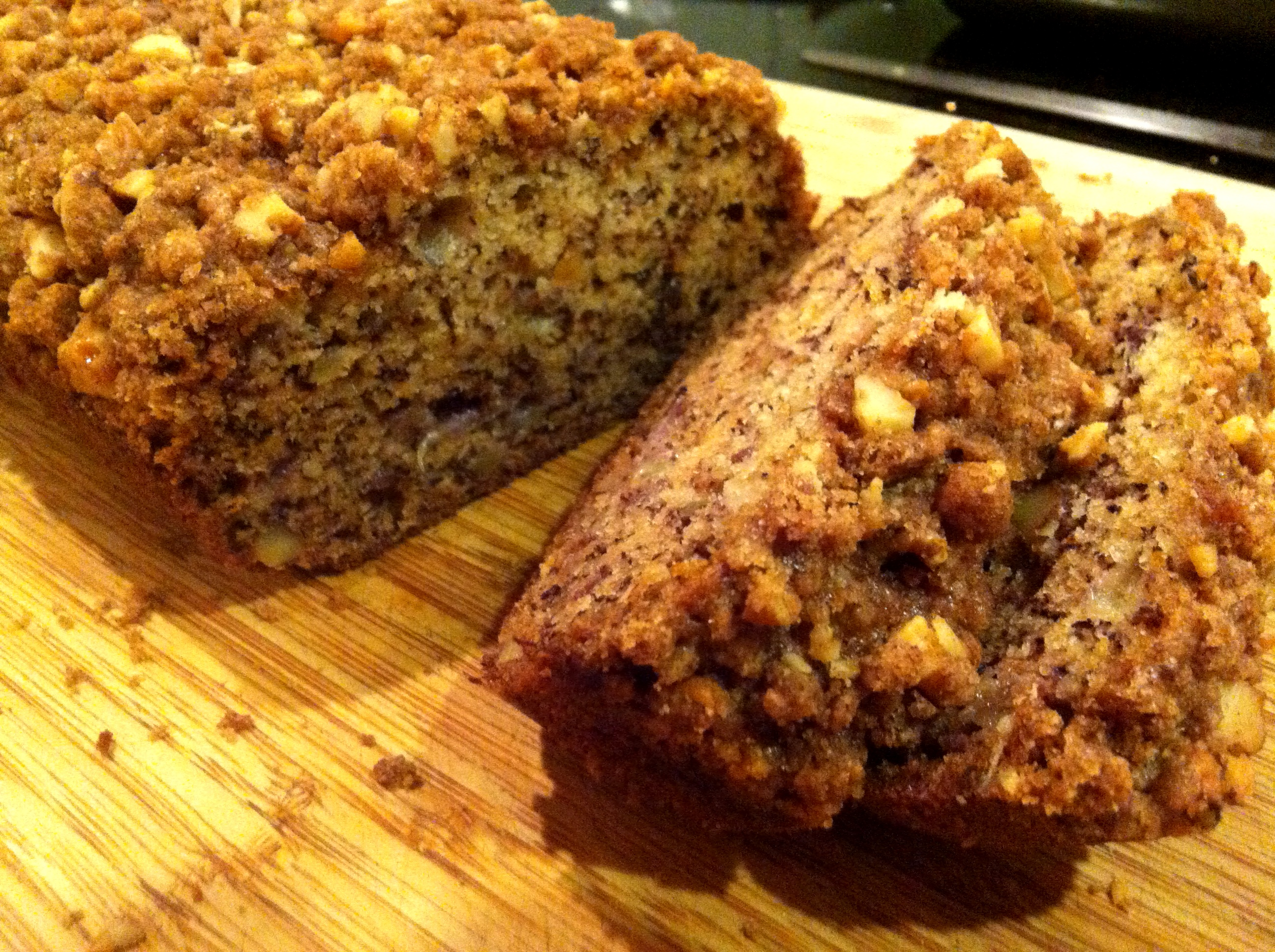 Displaying 18> Images For - Banana Nut Bread...